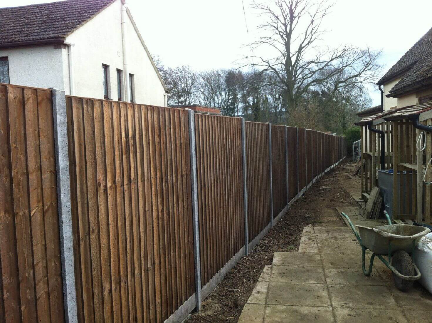 Fence posts archives oakfield uk ltd peterborough fencing company concrete fence installation concrete wooden fencing baanklon Choice Image