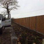 Concrete Fence Installation