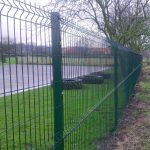 1.8m High Security Fencing