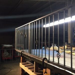 Iron Bar Fencing & Gates