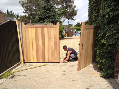 Bespoke Gates in Peterborough