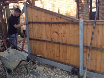 Domestic Fencing in Cambridgeshire