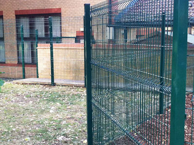Security V Mesh Fencing