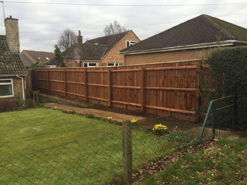 Fencing Project in Uppingham