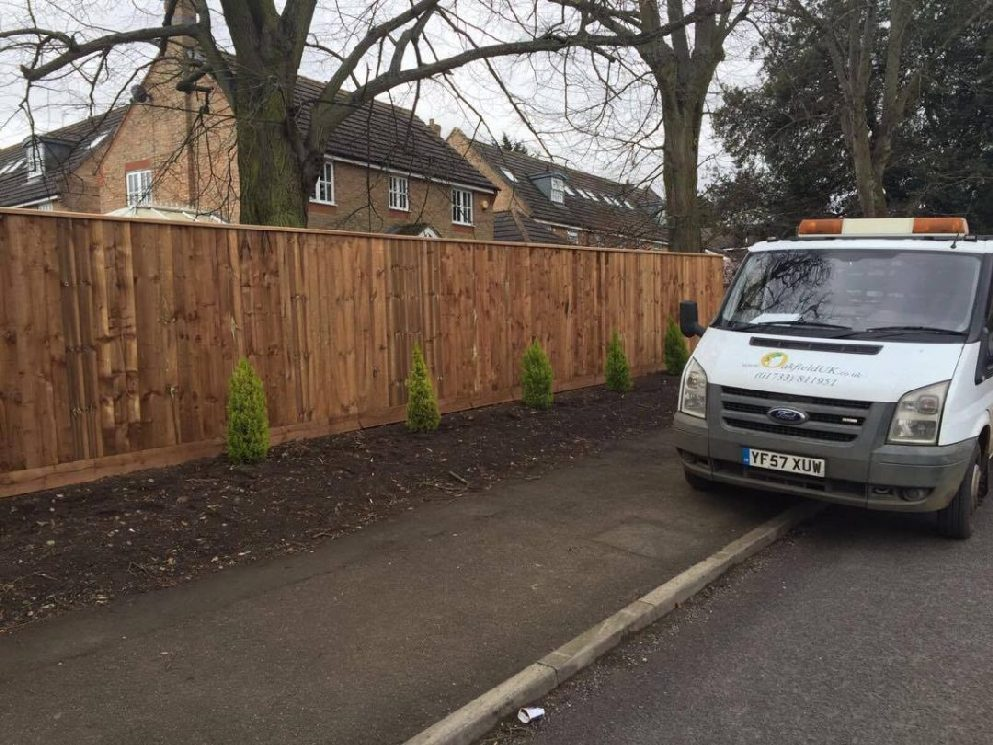 Fencing Project in Kent