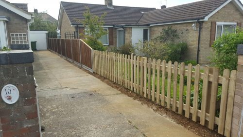 Picket Fencing Project