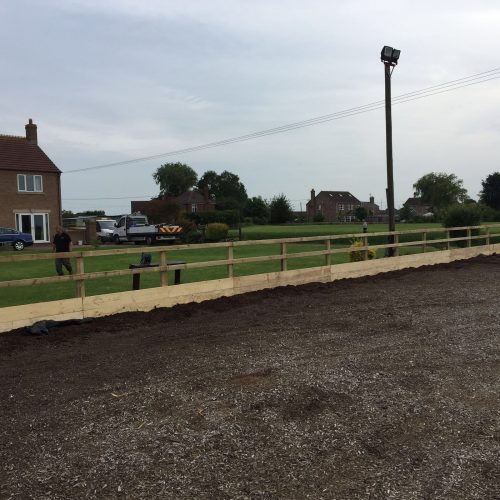 Enclosed Fencing Project