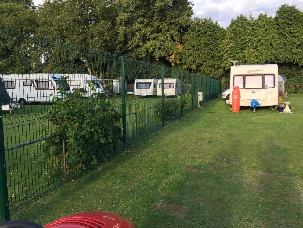 Security Fencing for Campsite