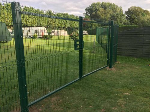 Security Gate for Campsite