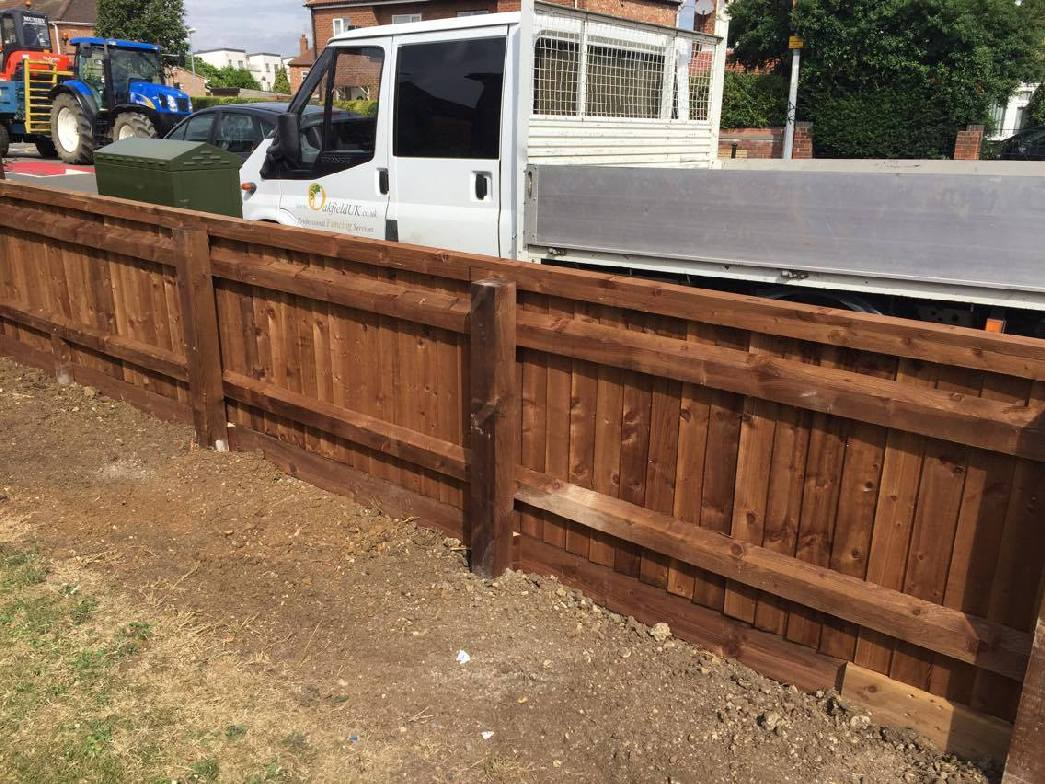 Small Fencing Project In Cambridgeshire Oakfield Uk Ltd