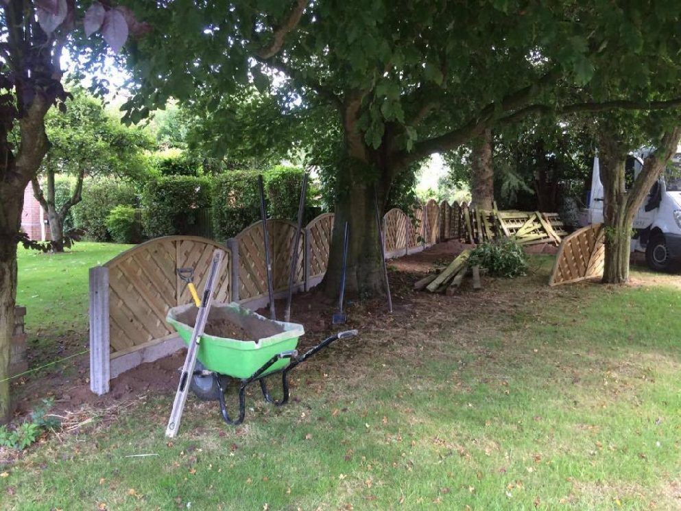 Small Garden Fencing