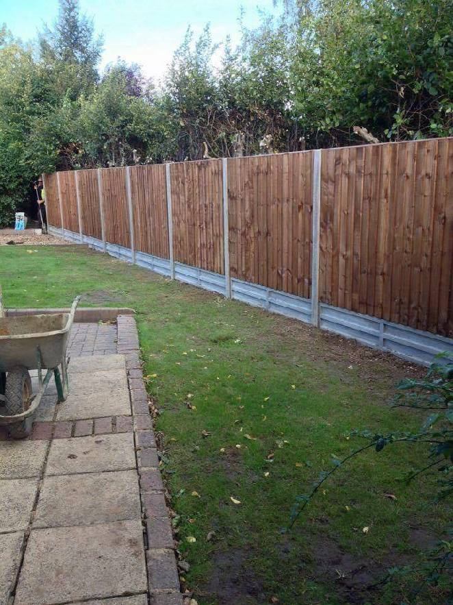 Wooden Fencing Project