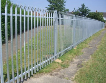 Galvanised Fencing