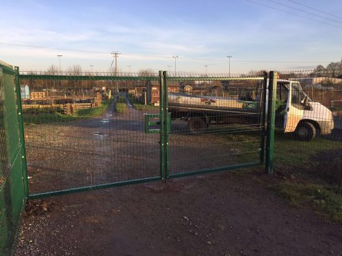 Security Fencing in Cambridgeshire