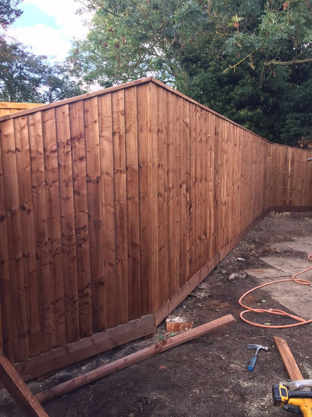 Domestic Fencing in Oundle