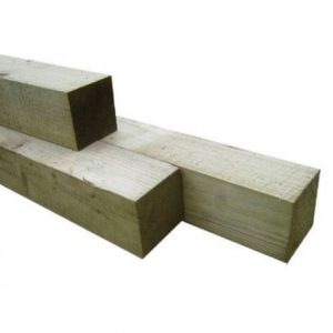 Timber posts from Oakfield UK