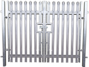 Double Steel Security Gate from Oakfield UK