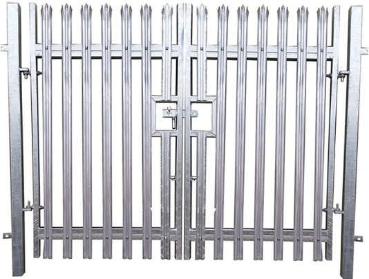 double palisade security gates oakfield uk ltd peterborough