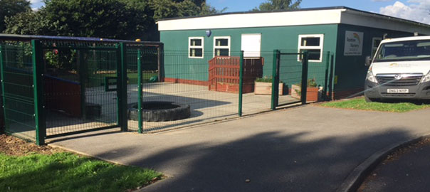 School Security Fencing Solution from Oakfield UK